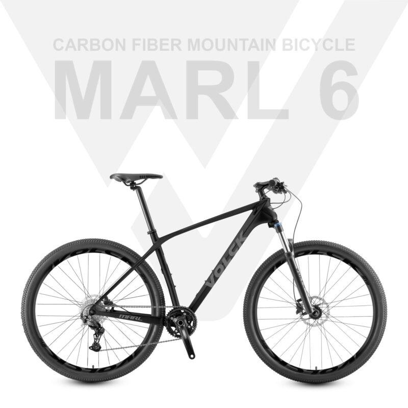 VOLCK Marl 6 Carbon Fiber Mountain Bike | Shimano Deore M6100 | Free Shipping & Assemble | 5 Years Warranty