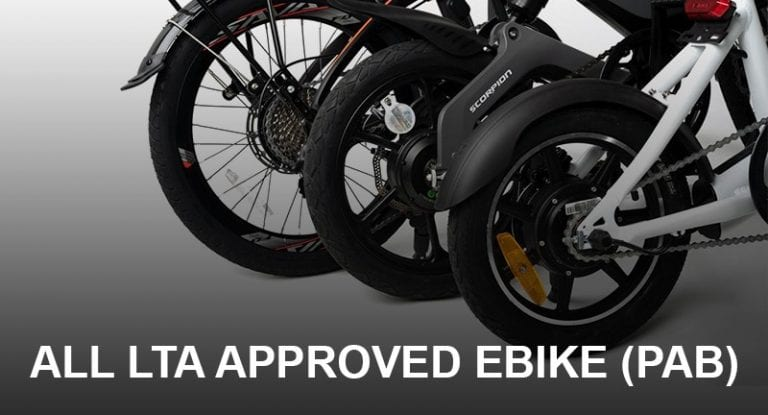 All The Best Electric Bike Approved by LTA in Singapore (Updated JAN 2021) | Ebike | PAB
