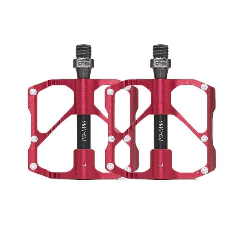 Promend Aluminium Pedal M86 (Red)