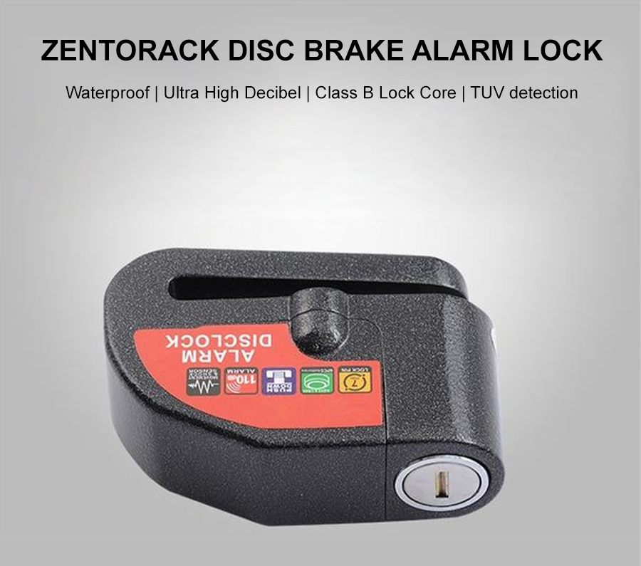 ZentoRack Disc Brake Alarm Lock p1