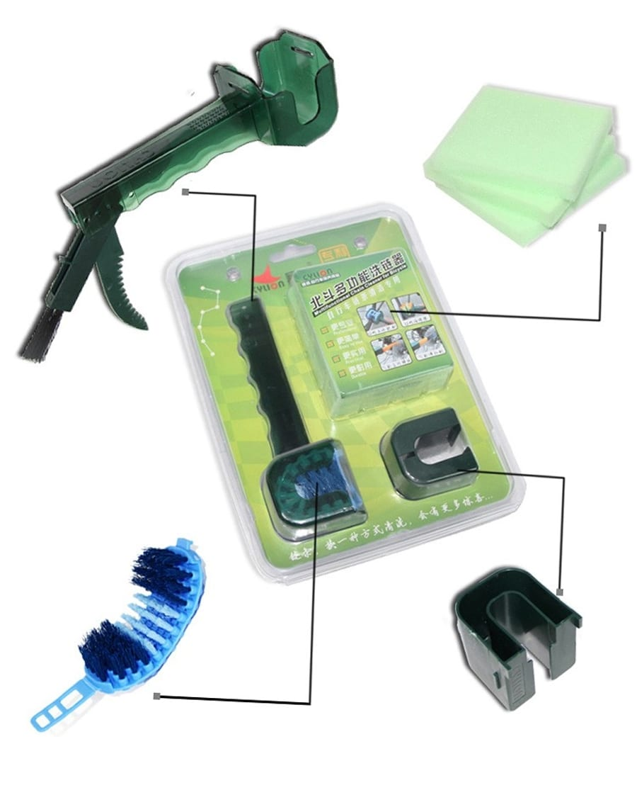 Cylion Multifunctional Chain Cleaner Kit p8