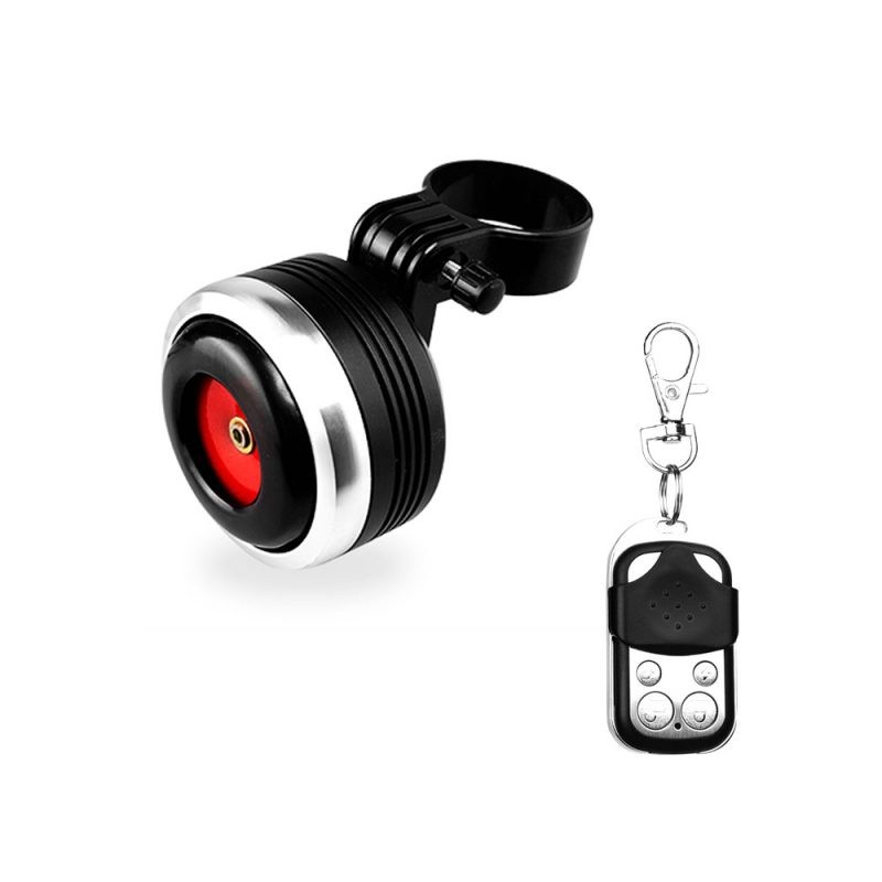 FEDOG Bicycle Horn With Remote Control Anti-Theft Alarm F-118