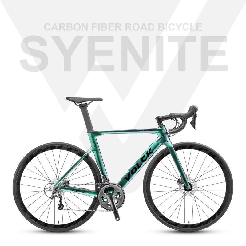 Volck Syenite Carbon Fiber Road Bike - Glossy Chameleon