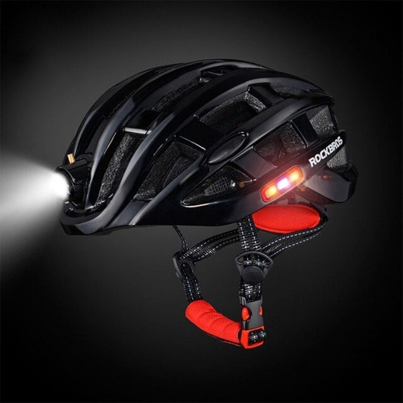 Rockbros Night Safety Riding Bicycle Helmet with Light ZN1001