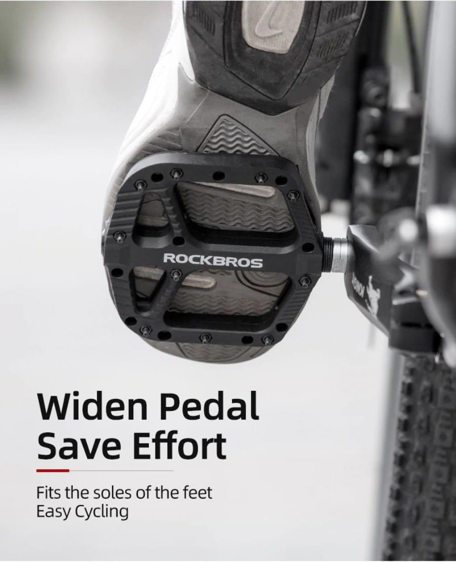 Rockbros Mountain Bike Bicycle Cycling Pedal 2017-12C (3)